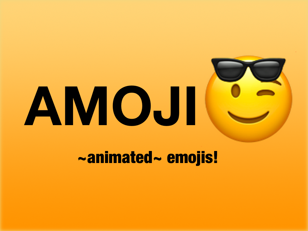 amoji sticker pack logo
